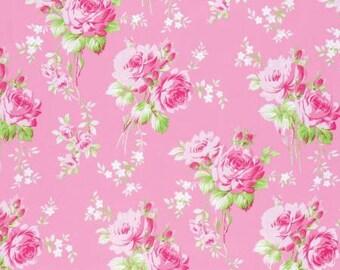 Sadie's Dance Card Carnation Big Bouquet PWTW122-CARN Cotton Fabric by Tanya Whelan FreeSpirit