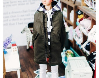 SD13 Boy Long Airlines jumper -Khaki