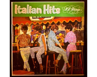 Glittered Italian Hits Album Art