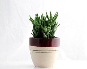 Utensil holder - Ceramic vase - Kitchen organizer - Ceramic planter - kitchen utensil holder - Ready to ship