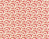 Small floral on creamy...by Bonnie and Camille..Moda Fabrics..  55138-17