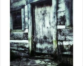 8 x 10 Kentucky Rustic Cabin  photo print