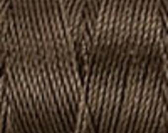 Sepia Tex 210 C Lon Beading Cord, 86 yards, Beading Cord for Kumihimo, Macrame Cord