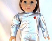Tin Man costume from The Wizard of Oz sized to fit American Girl or other 18 inch Dolls
