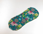 Classic Liner in Spring Owls - Reusable Cloth Liner