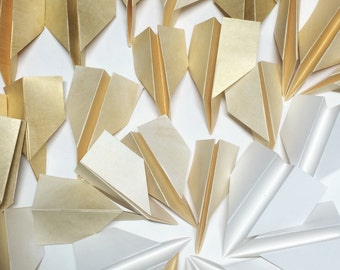 Paper Planes, Wedding decorations, Origami Planes , decorations, Backdrop, Origami,