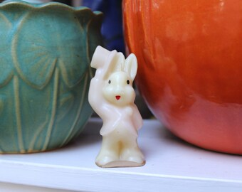 Gurley candle Novelty Easter Rabbit VINTAGE by Plantdreaming