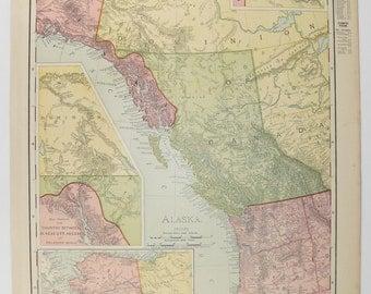 Original Vintage Florida Map 1858 Mitchell DeSilver Map of