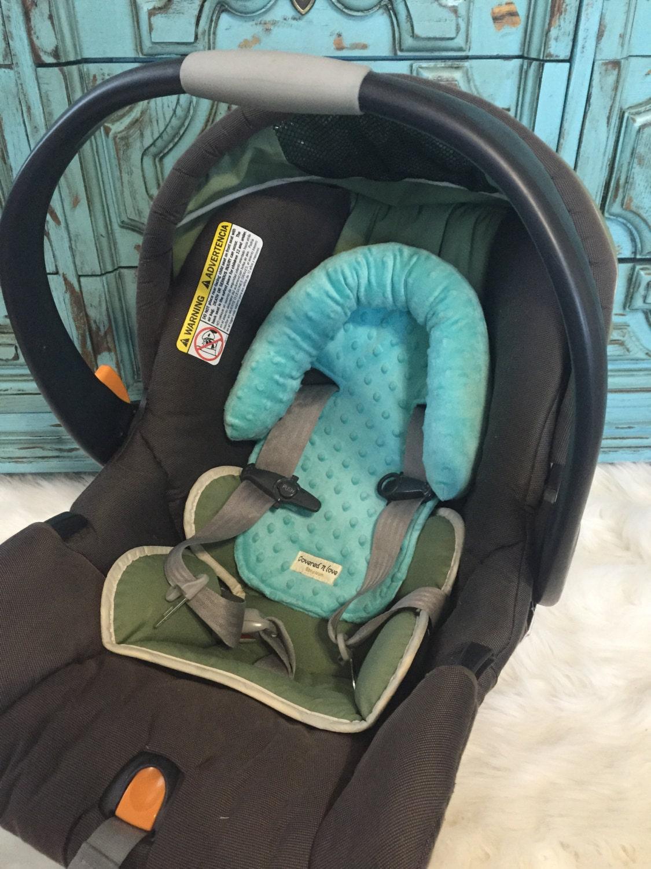 car seat headrest you pick color head rest head support. Black Bedroom Furniture Sets. Home Design Ideas
