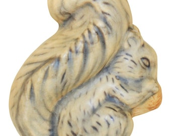 Weller Pottery Muskota Squirrel With Acorn Figurine