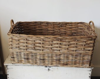 vintage french basket (pick up only)