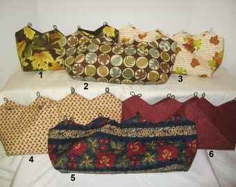 Assortment of Fall Covers for Purses