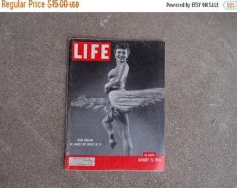 SALE SALE SALE Vintage Life Magazine Photography January 25 1954 Diane Sinclair Dancers Jet Age Lions Fashion World News Advertising Ads
