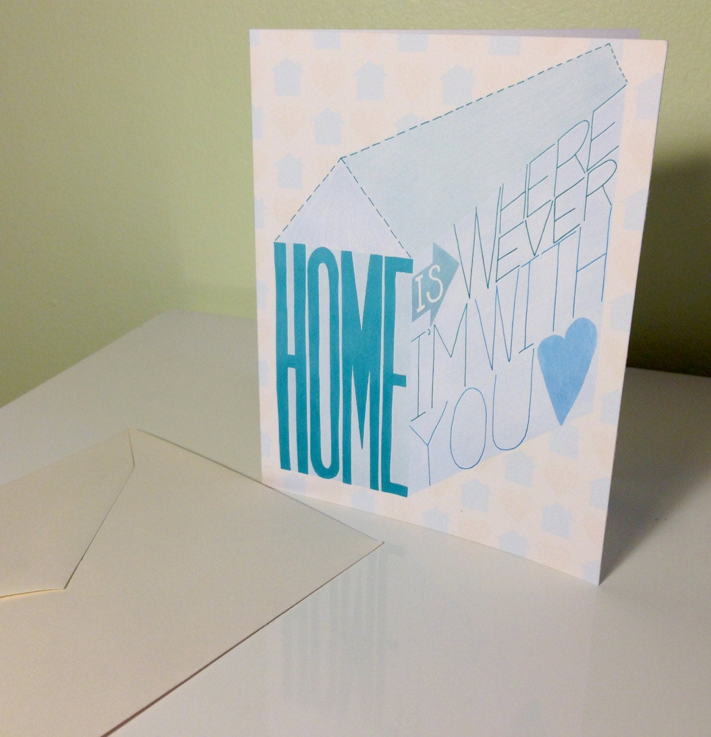 Greeting card home is wherever im with you love card valentine greeting card home is wherever im with you love card valentine kristyandbryce Gallery
