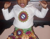 Mtoto Shirt and Skirt Set - RTS in Size 18/24 mos