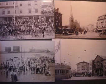 Vintage Cambridge Mass - Choose your own Cambridge - Harvard Square MIT Charles River- 4 x 6 prints - Nostalgic scenes
