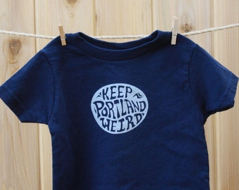 Keep Portland Weird| Toddler & Youth T Shirt| Hometown tees| Destination tees| Baby t shirt| Travel tees| Great gift| Oregon.