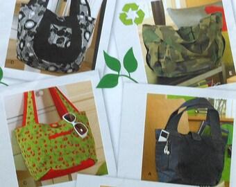 Tote bags Sewing Pattern UNCUT Simplicity 2597 totebag tote bag