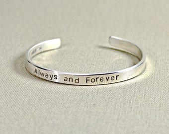 Always and Forever Sterling Silver Bracelet - Solid 925 BR746