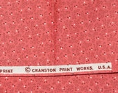 Quilt Fabric~Retro Pink~Reproduction Fabric~ViP Cranston~1 and 1/2 Yards~Cotton Fabric