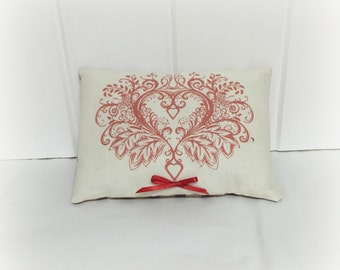 Valentine Pillow | Valentine decoration | Valentine decor | Valentine gift | Wedding gift | Holiday decoration | Gift for her | Love heart