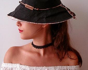Black Choker Boho, Festival, Crochet Lace Choker Necklace