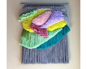 MADE TO ORDER - Woven Wall hanging Tapestry Wallhanging Weaving Fiber Art Fibre Textile Textiles Wall Art Woven Home Decor Jujujust