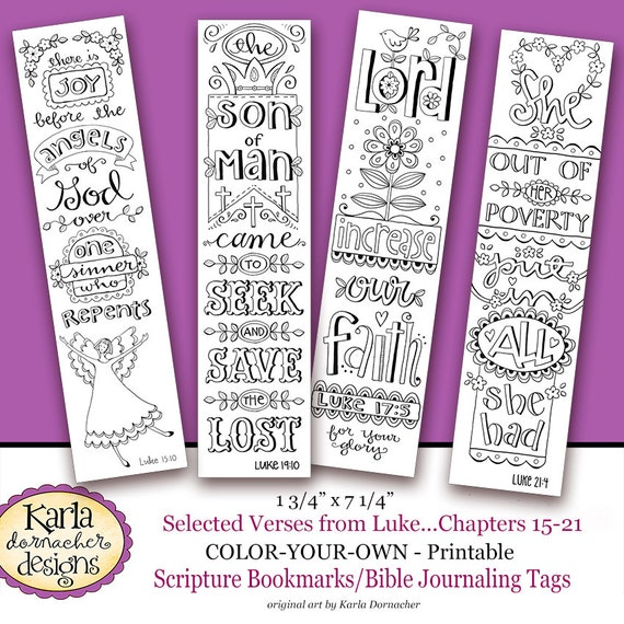 religious bookmark templates - luke 15 21 color your own bookmarks bible journaling
