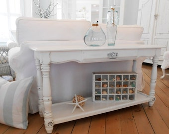 Sofa table furniture shabby chic white