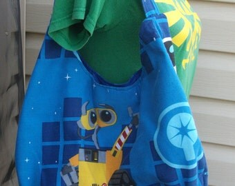 Wall-E  Slouch Bag , Med Size, 2008  Disney  EVE