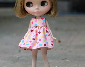 A Blythe cotton dress