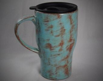Ceramic Travel Mug with a lid