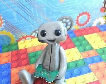 Gamer Robot (Teal)