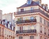 """Paris Photography // Paris Prints // Paris Architecture // Travel Photography // Square Format Prints // Europe  - """"Paris Rooftops 3"""""""