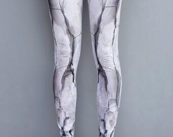 Grey Leggings Stone