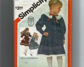 Simplicity 6092 - Girl's Dress, Size 3