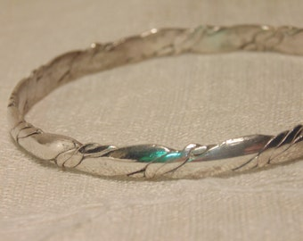 Vintage Sterling Bracelet Sterling Bangle Sterling 925 Jewelry Sterling Jewelry