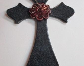 Ceramic Cross 10 Inch