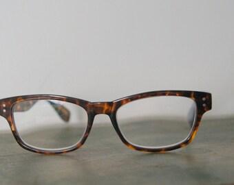 Vintage Foster Grant Tortoise Shell Eyeglasses Frames