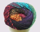 Noro Kureyon Wool Purple Red Orange Green Yarn Per Skein 368 Lot A