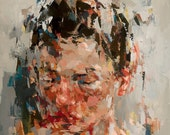 Into Unconscious, Giclee art print of original oil painting