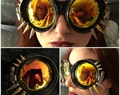 The Cat's Whiskers Post Apocalyptic Steampunk Goggles