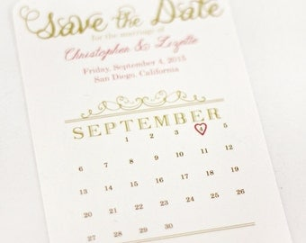 Printable Save the Date 4x6 or 5x7