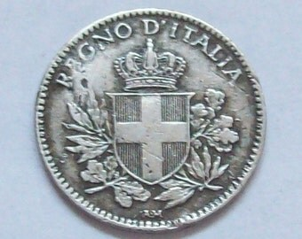Italy Coin 1919 20 Cent