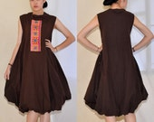 The Brown lady.....100 percent cotton dress.....