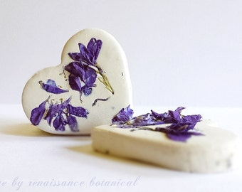 """Wildflower Seed Bomb Hearts 200 Plus Pretty """"How To"""" Cards, 2 inch Favor Seed Bombs, Wedding DIY, Seeded Hearts Garden Wedding Favors"""