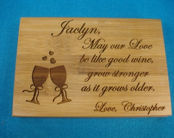 WINE GIFT SET, personalized - Great Eco Friendly Personalized gift for Wine Lovers! Great Personalized Christmas Gift!