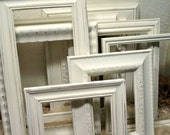 Frame Collection - Nursery Frames - Wedding Frames - Home Decor Wall Art - Farmhouse Frames -  Chalk Paint and Distressed Frames