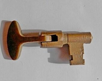 antique pocket door key original architectural hardware