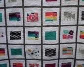 WEEKLY DEAL - Avant Garde Modern Queen Quilt - Art Gallery Fabrics